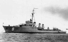 """ORP """"Burza"""", kontrtorpedowiec PMW. W służbie od 10 sierpnia 1932 do 24 lutego 1960. Wyporność w latach 2010 ton. Załoga 152 oficerów i marynarzy. My Heritage, Coat Of Arms, Troops, Sailing Ships, Ww2, Army, Polish, Military, History"""