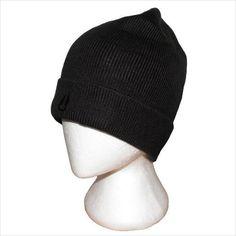 Nixon Mens Nightwatch Beanie Hat Black One Size
