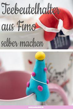 Simply make your own tea bag holder out of polymer clay. Fimo ideas for Christmas . Simply make your own tea bag holder out of polymer clay. Fimo ideas for Christmas. Simple polymer c