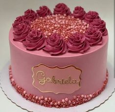 Cake inspiration for the week. We celebrate the cake bakers. The Exquisite 🌺 Cake. Cute Birthday Cakes, Beautiful Birthday Cakes, Beautiful Cakes, Amazing Cakes, Sweet Cakes, Cute Cakes, Pretty Cakes, Yummy Cakes, Cake Land