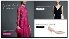 Valentino | Online store | 11.2012