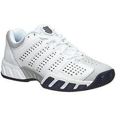 K-Swiss Men's Bigshot Lite 2.5 White/Glacier/Gray/Navy Men's Shoes