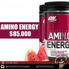 El amino energy ayuda en el transporte de los aminoácidos esenciales, acelera la recuperación muscular y mejora la energía y la concentración. #Productosfitnesspeople
