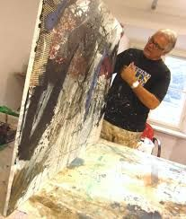 Art Techniques, Artist At Work, Videos, Workshop, Studio, Pictures, Painting, Image, Painting Abstract