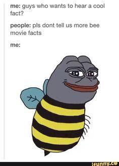 From where can I copy the bee movie script? Movie Facts, Fun Facts, Bee Movie Script, Aviation Humor, Jokes, Animation, Guys, Husky Jokes, Memes