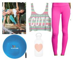 """yoga wear"" by alexfred ❤ liked on Polyvore featuring Beyond Yoga, Alo and bkr"