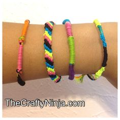 How to make Friendship Bracelets DIY