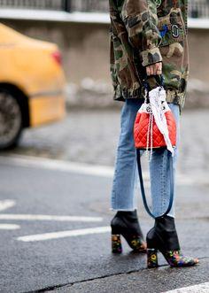 NYFW Street Style Fall 2017 | StyleCaster #jadealyciainc  www.jadealycia.com
