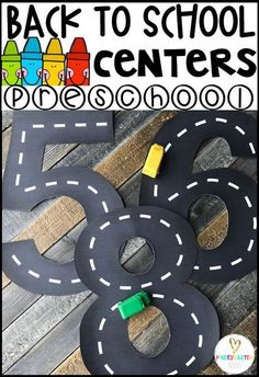 Back to School Hands On Centers for Preschool