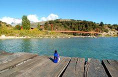 Gorgeous water @ Lago General Carrera in Chile and fabulous Lavender Hand Sanitizer @pelindaba #worldwidelavender
