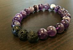 A personal favorite from my Etsy shop https://www.etsy.com/listing/266765947/handcrafted-jewelry-chakra-bracelet