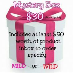 Order your Pure Romance by Andrea Mystery Box to get some \