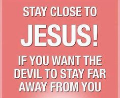 Submitting to God continually gives you the strength to resist the devil and he will flee from you!