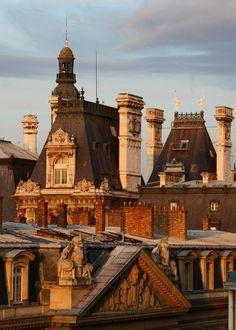 bluepueblo:  Rooftops, Paris, France photo via jose