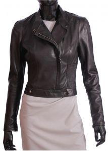 Ramoneska skórzana damska DORJAN INS450 Ramones, Leather Jacket, Model, Jackets, Fashion, Fotografia, Studded Leather Jacket, Down Jackets, Moda