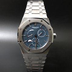 Audemars Piguet Royal Oak Dual Time (2012) WA : 628121067189  : 021-7209021 https://mulialegacy.com