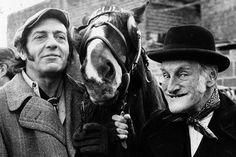 """""""Steptoe and Son"""" Albert Steptoe (Wilfrid Brambell) and is son Harold (Harry H Corbett)."""