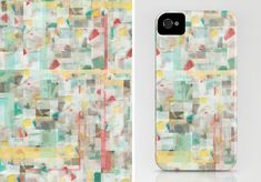 Mosaic by Jacqueline Maldonado / iPhone case from The Design Milk Dairy, our collection of Society6 artwork.