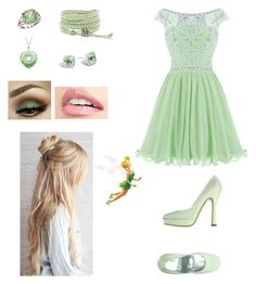 """""""Tinkerbell"""" by andrealeduc ❤ liked on Polyvore featuring Penrose, John Hardy, BillyTheTree and Disney"""