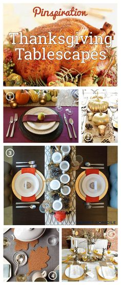 Thanksgiving Tablescapes Pinspiration! Thanksgiving Tablescapes, Thanksgiving Decorations, First Thanksgiving, Turkey Time, Cool Tables, Norman Rockwell, Fall Decorations, Tis The Season, Holiday Ideas