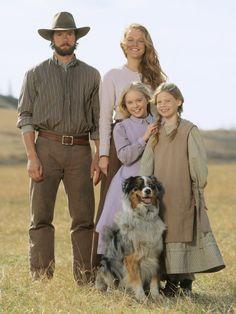 """Little House on the Prairie"" I loved this 2005 miniseries...beautifully filmed."