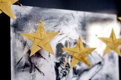 guía de estrellas de origami