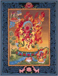 Dakini expresion tibetana