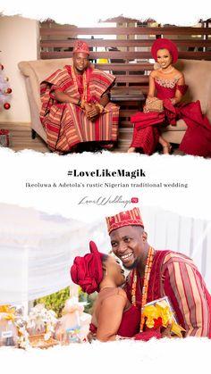 Nigerian Traditional Wedding, Real Weddings, Rustic, Country Primitive, Retro, Farmhouse Style, Primitives, Country, Rustic Style