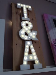 Letras luminosas | Decoración