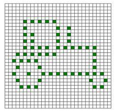Ravelry: Tractor Bobble Chart pattern by Kari Philpott