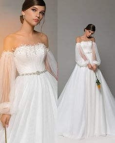 Choose Your Favorite! by World of Dresses Stunning Wedding Dresses, Dream Wedding Dresses, Bridal Dresses, Next Wedding, Boho Wedding, Wedding Bride, Cheap Maxi Dresses, Casual Dresses, Wedding Attire