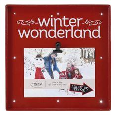 Snapshots Winter Wonderland Picture Frame