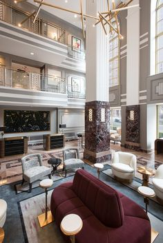 design office home luxury design luxury design design inc brooklyn ny design hotels luxury design luxury design bedroom luxury design Hotel Lobby Design, Hotel Bedroom Design, Modern Hotel Lobby, Luxury Hotel Design, Design Suites, Art Deco Hotel, Hotel Decor, Lounge Design, Design Entrée