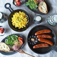 程よい厚みのイグ鍋なら野菜の甘さも引き立たせることができ、さらに鉄分補給にもなりますよ♪