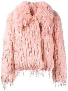 Shop Ashish embellished faux fur jacket in Browns from the world's best independent boutiques at farfetch.com. Shop 400 boutiques at one address.