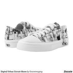 Shop Digital Urban Circuit Shoes created by futureimaging. Printed Shoes, Kids Sneakers, Custom Sneakers, Circuit, Baby Shoes, Converse, Pairs, Urban, Unisex