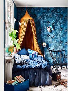 Una Inspiradora Casa Llena De Color Azul | Cut & Paste – Blog de Moda