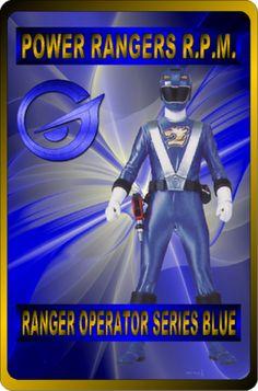 Ranger Operator Series Blue by rangeranime on Power Rangers Fan Art, Power Rangers Rpm, Power Rangers Ninja Storm, Power Rengers, Favorite Tv Shows, Captain America, Iron Man, The Past, Deviantart