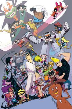 Cartoon Crossover Collision Crisis