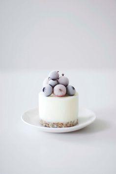 mini frozen yogurt cake