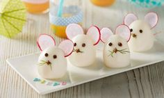 59 Trendy ideas for baby food finger fun Mouse Recipes, Baby Food Recipes, Snack Recipes, Food Baby, Healthy Recipes, Cute Food, Good Food, Awesome Food, Deco Buffet