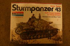 Vintage Monogram Sturmpanzer 43 1/32 scale