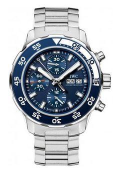 IWC Aquatimer Chronograph Automatic Blue Dial