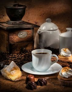 Coffee Break (with pasteries & chocolates) - Ana Rosa