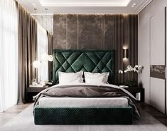 wooden flooring Home Interior Wall Decoration on I - flooring Room Design Bedroom, Luxury Bedroom Design, Home Room Design, Home Interior Design, Living Room Designs, Bedroom Decor, Interior Ideas, Luxurious Bedrooms, Behance