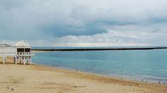 Strand La Caleta - Cádiz, Spanien