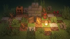 I built a spooky grave! - Minecraftbuilds Minecraft Cottage, Cute Minecraft Houses, Minecraft Images, Minecraft Plans, Minecraft Room, Minecraft Survival, Minecraft Tutorial, Minecraft Blueprints, Minecraft Designs