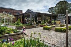 Visit The Grounds of Alexandria and experience for yourself the magnificent vibe of heritage recycled brick. Rustic Gardens, Outdoor Gardens, The Grounds Of Alexandria, Outdoor Cafe, Brick, Pergola, Australia, Outdoor Structures, Mansions