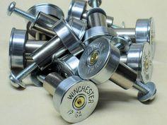 Shotgun Shell Cabinet Door Knobs
