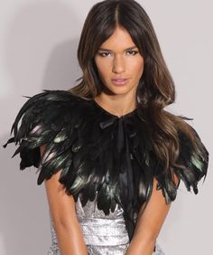 Why are feather capes so awesomeeee